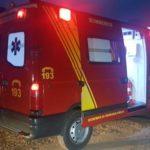 Corpo de Bombeiros socorre mulher com ferimentos após briga